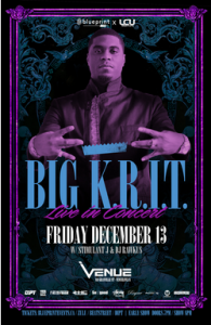BIG K.R.I.T at Venue !!!! @ Venue | Oxford | North Carolina | United States