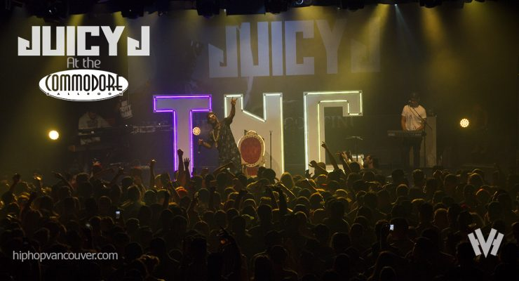 Juicy J at The Commodore (2015)