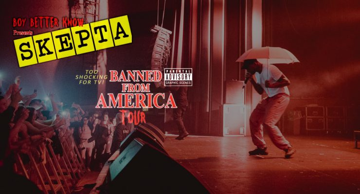 HHV Recap | Skepta – Banned From America Tour @ Vogue Theatre