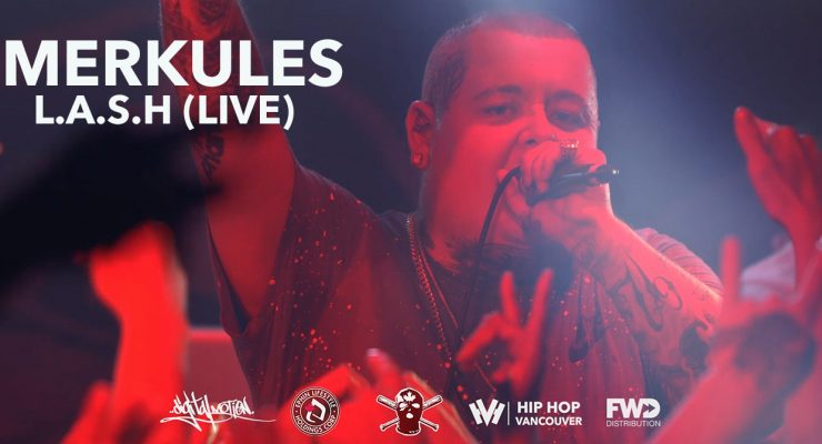 Merkules – L.A.S.H (Live at Red Room)