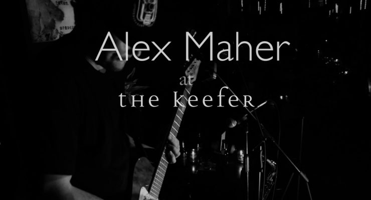 Alex Maher – Regulate (Warren G and Nate Dogg Cover)