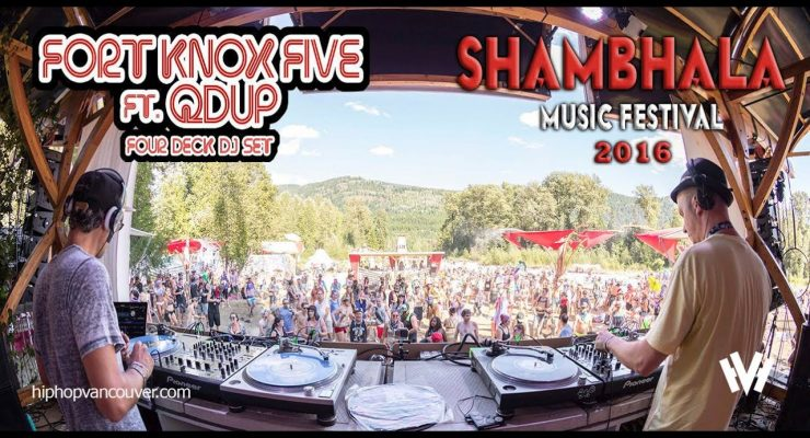HHV – Fort Knox Five and Qdup Interview: Shambhala Festival (2016)