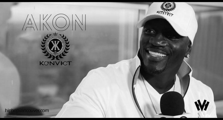 Akon and Tre Carter Interview (HIP HOP VANCOUVER)