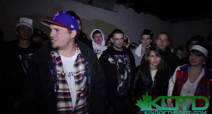 KOTD – Rap Battle – Sketch Menace vs Aspire