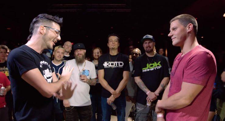 KOTD – Rap Battle  – Billy Shakes vs Bar J | #GZ