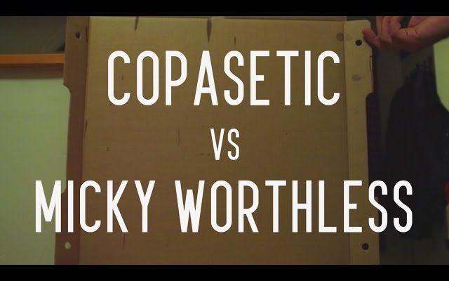 KOTD – Rap Battle – Copasetic vs Micky Worthless | #GZ