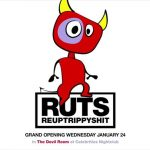 Tonight! RUTS debuts The Devil Room Grand Opening at Celebrities