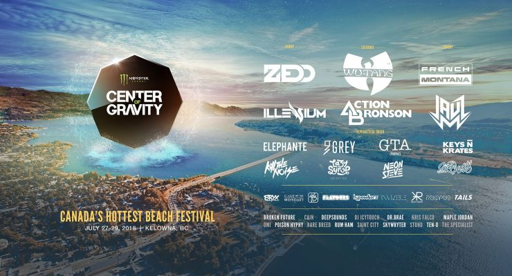Win Tickets To Center of Gravity 2018 | #COGFest